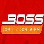 Logo da emissora Radio Boss 104.9 FM