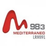 Logo da emissora Radio Mediterr�neo 98.3 FM