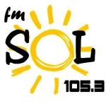 Logo da emissora Radio Sol 105.3 FM
