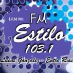 Logo da emissora Radio Estilo 103.1 FM
