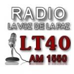 Logo da emissora Radio La Voz de La Paz 1550 AM