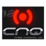 Logo da emissora Radio CNQ 87.9 FM