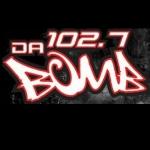 Logo da emissora KDDB 102.7 FM Da Bomb
