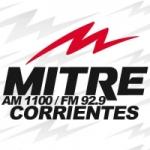 Logo da emissora Radio Mitre 1100 AM 92.9 FM