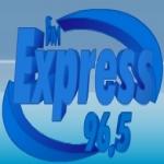 Logo da emissora Radio Express 96.5 FM