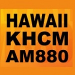 Logo da emissora Radio KHCM 880 AM