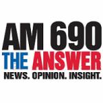 Logo da emissora Radio KHNR 690 AM