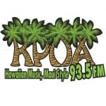 Logo da emissora KPOA 93.5 FM