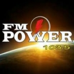 Logo da emissora Radio Power 103.5 FM