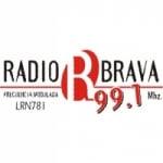 Logo da emissora Radio Brava 99.1 FM