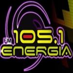 Logo da emissora Radio Energia 105.1 FM