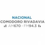 Logo da emissora Radio Nacional 670 AM 94.3 FM