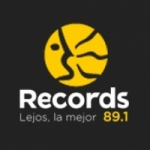 Logo da emissora Radio Records 89.1 FM