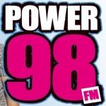 Logo da emissora Radio Power 98 KZGZ 97.5 FM