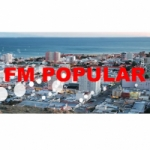 Logo da emissora Radio Popular 104.3 FM