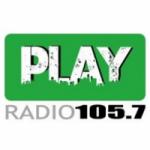 Logo da emissora Radio Play 105.7 FM