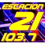 Logo da emissora Radio Estación 21 103.7 FM