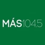 Logo da emissora Radio M�s 104.5 FM