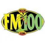 Logo da emissora KCCN 100 FM