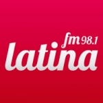 Logo da emissora Radio Latina 98.1 FM