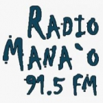 Logo da emissora Radio KEAO 91.5 FM