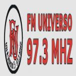 Logo da emissora Radio Universo 97.3 FM