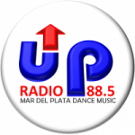 Logo da emissora Radio UP 88.5 FM