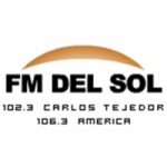Logo da emissora Radio Del Sol 102.3 FM