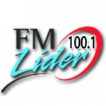 Logo da emissora Radio Líder 100.1 FM