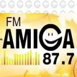 Logo da emissora Radio Amiga 87.7 FM