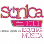 Logo da emissora Radio Sonica 101.1 FM