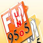 Logo da emissora Radio Uno 95.5 FM