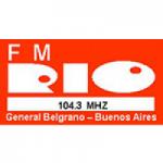 Logo da emissora Radio Rio 104.3 FM