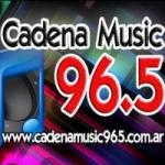 Logo da emissora Radio Cadena Music 96.5 FM