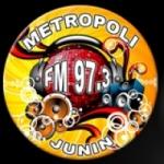 Logo da emissora Radio Metropoli 97.3 FM