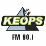 Logo da emissora Radio Keops 90.1 FM