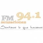 Logo da emissora Radio Sensaciones 94.1 FM