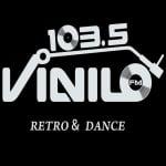 Logo da emissora Radio Vinilo 103.5 FM
