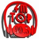 Logo da emissora Radio Top 99.5 FM