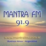 Logo da emissora Radio Mantra 91.9 FM