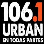Logo da emissora Radio Urban 106.1 FM