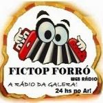 Logo da emissora Fictop Forró Web Rádio
