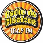 Logo da emissora Radio de Clásicos 106.9 FM