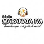 Logo da emissora Rádio Maranata FM