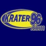 Logo da emissora KRTR Krater 96.3 FM