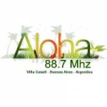 Logo da emissora Radio Aloha 88.7 FM