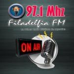 Logo da emissora Radio Filadelfia 97.1 FM