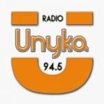 Logo da emissora Radio Unyka 94.5 FM
