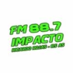 Logo da emissora Radio Impacto 88.7 FM