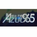 Logo da emissora Radio Azul 96.5 FM
